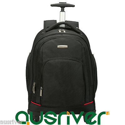 "20"" Luggage Backpack Carry On Travel Laptop Bag Universal Wheels Large Capacity"