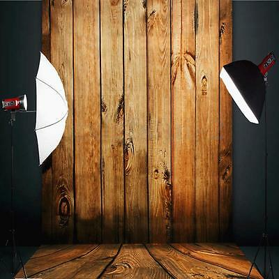 3x5FT Photography Backdrops Background Cloth Wood Wall Floor Studio Photo Props