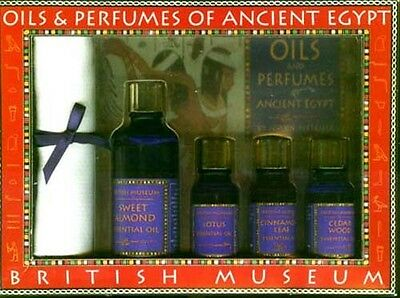 NEW British Museum Oils & Perfumes of Ancient Egypt Lotus Almond Cedar Scents • CAD $188.74