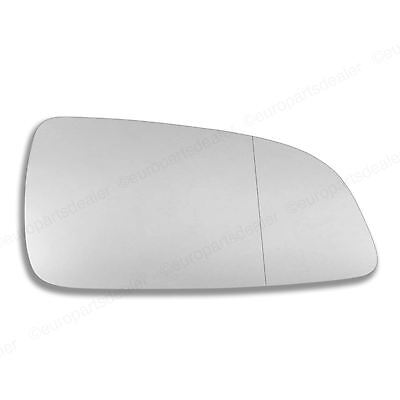 Right side Mirror glass for Vauxhall Astra H 04-08 wing Wide Angle Driver