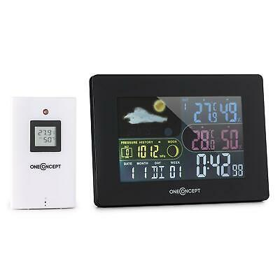Funk Wetterstation Thermometer Barometer Außen Thermometer Wecker LCD Display