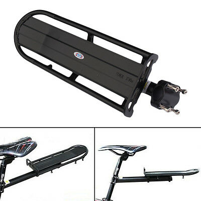 MTB Mountain Bike Cycling Extendable Bicycle Road Rear Carrier Rack Seat Post