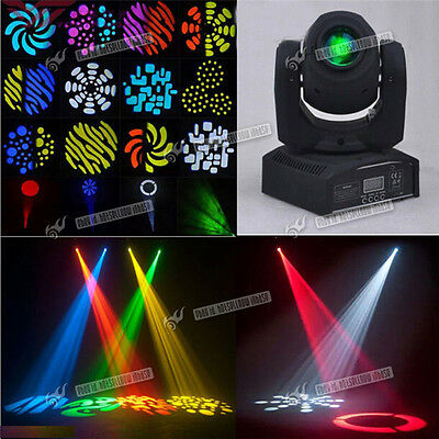 New Spot Mini 30W Gobo LED RGBW Moving Head Projector Stage Disco DJ Party Light