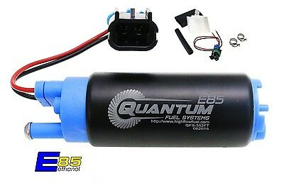 QUANTUM FUEL SYSTEMS E85 340LPH Intank Fuel Pump & Installation Kit 11541 GSS341