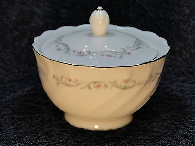 Fine China of Japan Royal Swirl Sugar Bowl and Lid EXCELLENT!