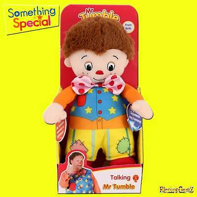 "Something Spécial 13/"" Talking MR TUMBLE Soft Plush Toy"