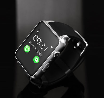 Waterproof GT88 NFC Bluetooth Smart Watch Phone Mate For iphone Android Silver