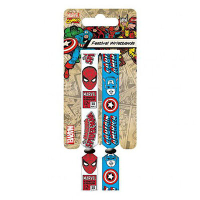 Marvel Comics - Festival Wristbands - GIFT
