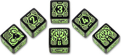 Shadowrun Dice Set Decker (6) QWS SSDH21