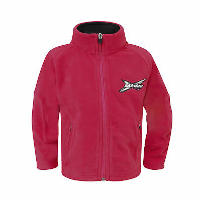Ski-doo Kids X-Team Fleece - Raspberry