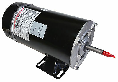 2 HP (3HP SPL) 3450/1725 RPM 48Y Frame 230V 2-Speed Spa Motor Century # BN51