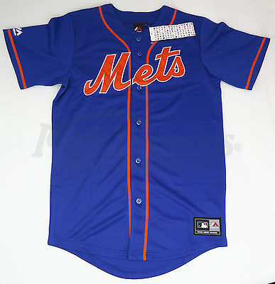 New York Mets Replica Alternate MLB Baseball Jersey by Majestic Athletic