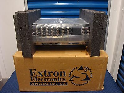 EXTRON SYSTEM 8 PLUS 8 Input Audio Video Switcher Make Offer!