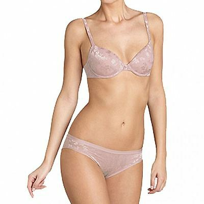 Triumph Bra Body Make-up Lace Whp Under Wired Padded Half Cup