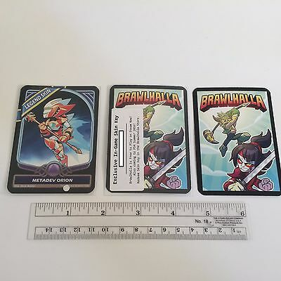 Brawlhalla - Metadev Orion Code / Card / Legend Skin - PC Only - PAX