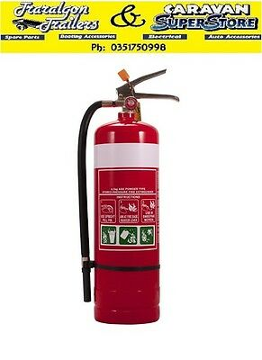 2.5kg fire extinguisher 3A:40BE ABE powder type solids liquids electrical ACC344
