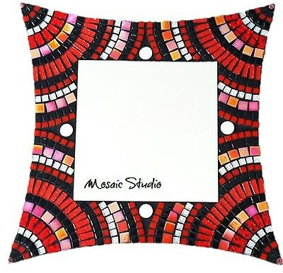 Mosaic Mirror  Kit-Set - Ravishing Red