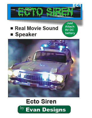 Ghostbusters ECTO Siren Circuit for Diecast Models and R/C Vehicles