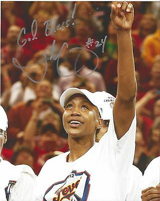 TAMIKA CATCHINGS Signed 8 x 10 Photo INDIANA FEVER WNBA Basketball FREE SHIPPING