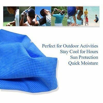 Sports Exercise Gym Workout Indoor Outdoor Intant Cooling Towel