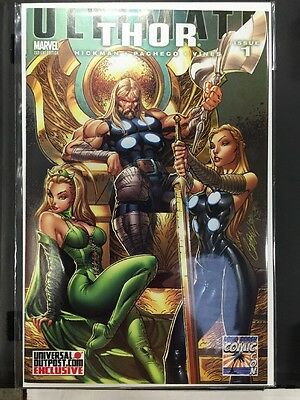 Thor #1 Hastings Deadpool Variant Cover Marvel 2014 Jane ...
