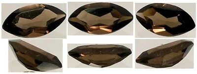 19thC Antique ¾ct Scotland Cairngorm Smoky Quartz Medieval China Court Sunglass