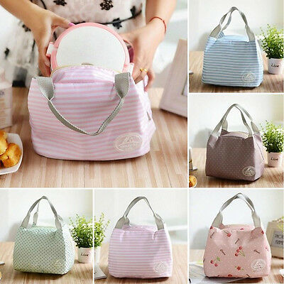 Thermal Portable Insulated Lunch Box Storage Bag Picnic Carry Totes Pouch Bag XC