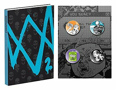 Watch Dogs 2 Official Collectors Edition Guide Book - New - In Stock