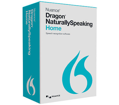 NUANCE Dragon Naturally Speaking Home 13 CD Licence: 1 user Full edition