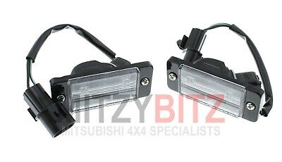 Genuine Mitsubishi L200 96-07 K62T K64T K74T K75T Rear Number Plate Lamp Set