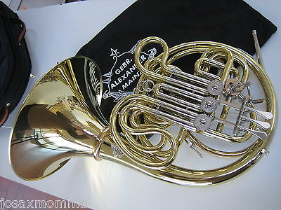 Brand New Alexander 103MAL HG French Horn W/ HAND-HAMMERED BELL, CASE, WARRANTY