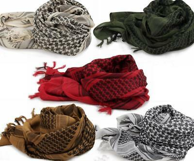 Shemagh Military Tactical Desert Scarf Cotton Keffiyeh Head Wrap Unisex U.S.A