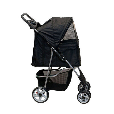 BLACK Dog Stroller! Strong Quality! Size: LARGE! BRAND NEW