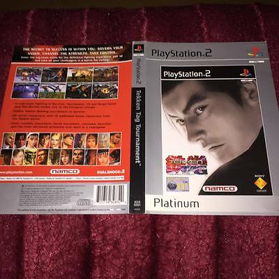 cover artwork for Tekken TAG TOURNAMENT ps2  NO GAME DISC INCLUDED