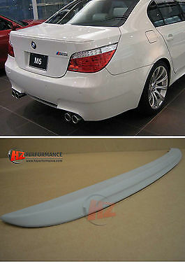 Bmw 5 Series E60 4Dr Saloon M5 Type Boot Spoiler | Pp Plastic |