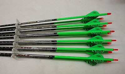 Easton ST Axis Full Metal Jacket Arrows 340 w/Blazer Vanes Wraps 1/2 Dz