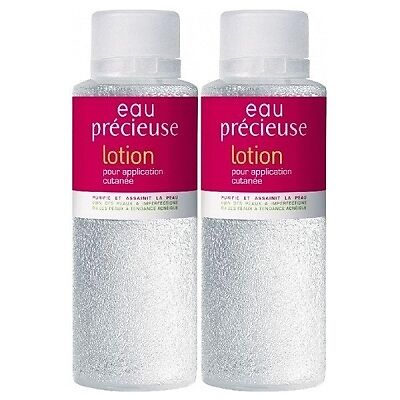 EAU PRECIEUSE Lotion - Lot de 2 Purifiante & assainissante - 2 x 375ml