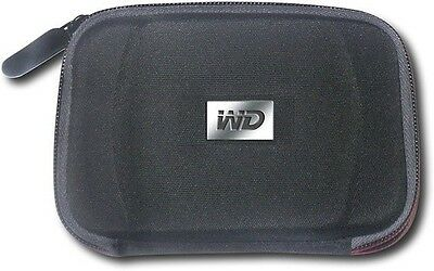 WD - Carrying Case for Select Passport Portable Hard Drives - Black