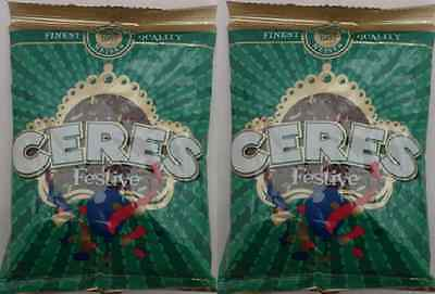 2x Ceres Festive Sprinkles Classic Delicious Good Quality Nutritious 225g Halal