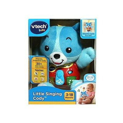 VTech Baby Little Singing cody Toy with Music Song Sounds New