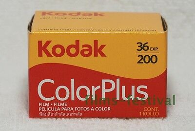 5 rolls KODAK COLORPLUS 200 35mm Color Prints Film 135-36