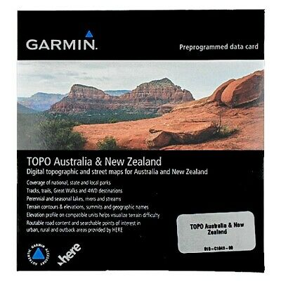 Garmin Topographical Mapping for Australia & New Zealand (Version 6)