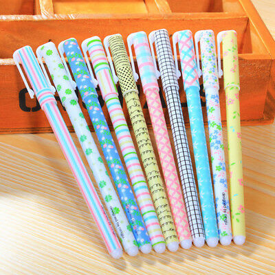 Set of 10pcs Watercolor Rollerpens Gel Pens Stationery Christmas Kids Gift