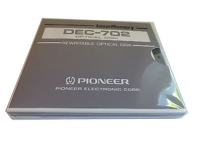 Pioneer DEC-702 Optical Disc OVP NEU Rewritable Optical Disc #20