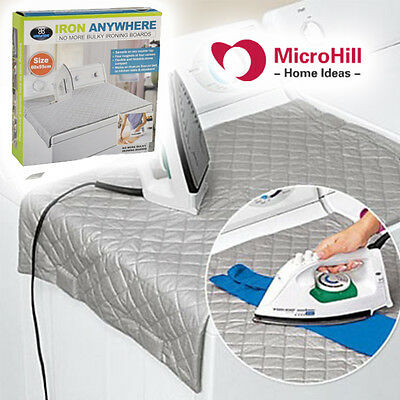 IRON ANYWHERE IRONING MATS For CAMPING TRAVEL EASY STORAGE FOLDABLE HEAT PROOF