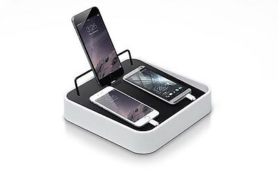 BlueLounge Sanctuary4 Charging Station/Stand/Dock White