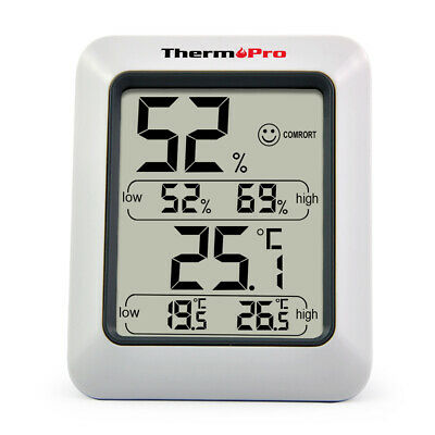 ThermoPro TP50 Digital Indoor Hygrometer Thermometer Temperature Humidity Meter