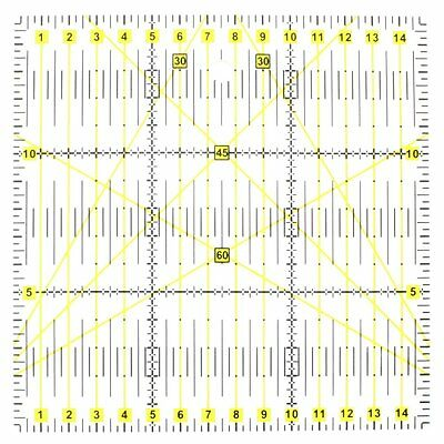 Quilting Sewing Patchwork Ruler Cutting Tool Acrylic Thick Transparent Tool Mat