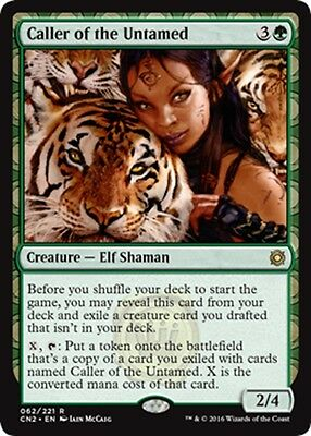 MTG Magic - (R) Conspiracy: Take the Crown - Caller of the Untamed - NM/M
