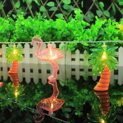 165cm Pink Flamingos String Lights for Christmas Wedding Party Decoration